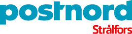 Logotype for PostNord Strålfors